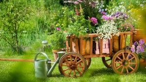 Drewniane ozdoby wTwoim ogrodzie -najlepsze inspiracje