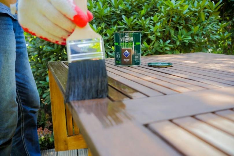 Impregnacja mebli ogrodowych