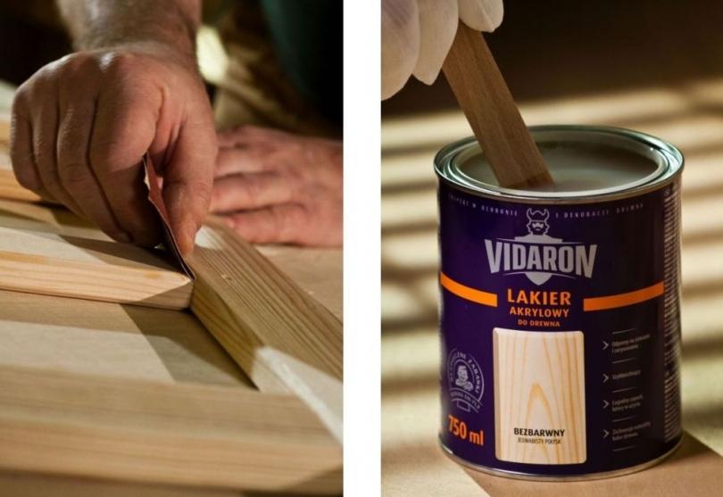 Przygotowanie drewnianej powierzchni do lakierowania