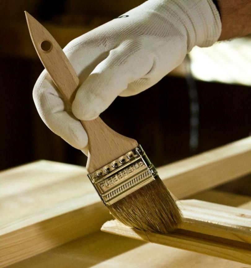 Lakierowanie drewnianych elementów