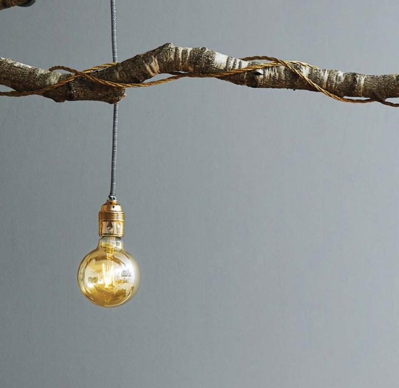 Lampa zgałęzi