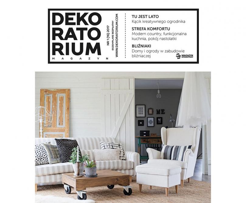 Okładka magazynu Dekoratorium