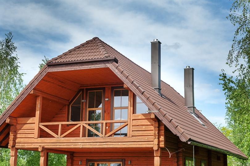 Podbitka dachowa wpiętrowym-domu