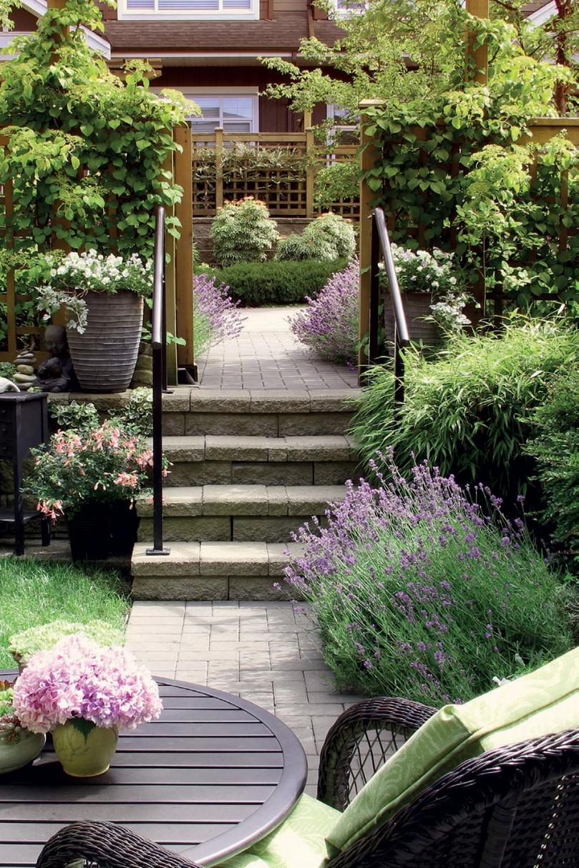 Niewielki ogród
