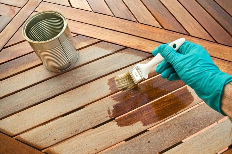Olejowanie podłogi tarasowej