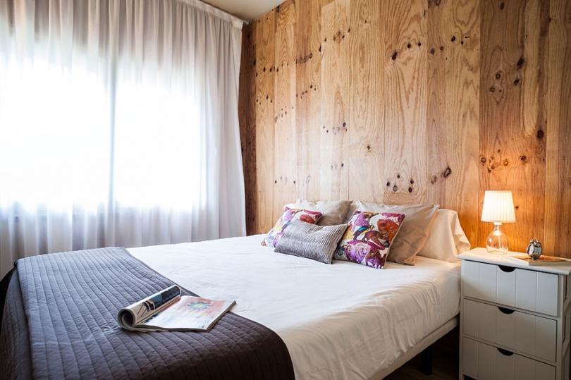 Drewniane panele wsypialni