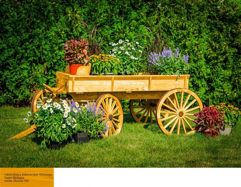 Wóz zkwiatami