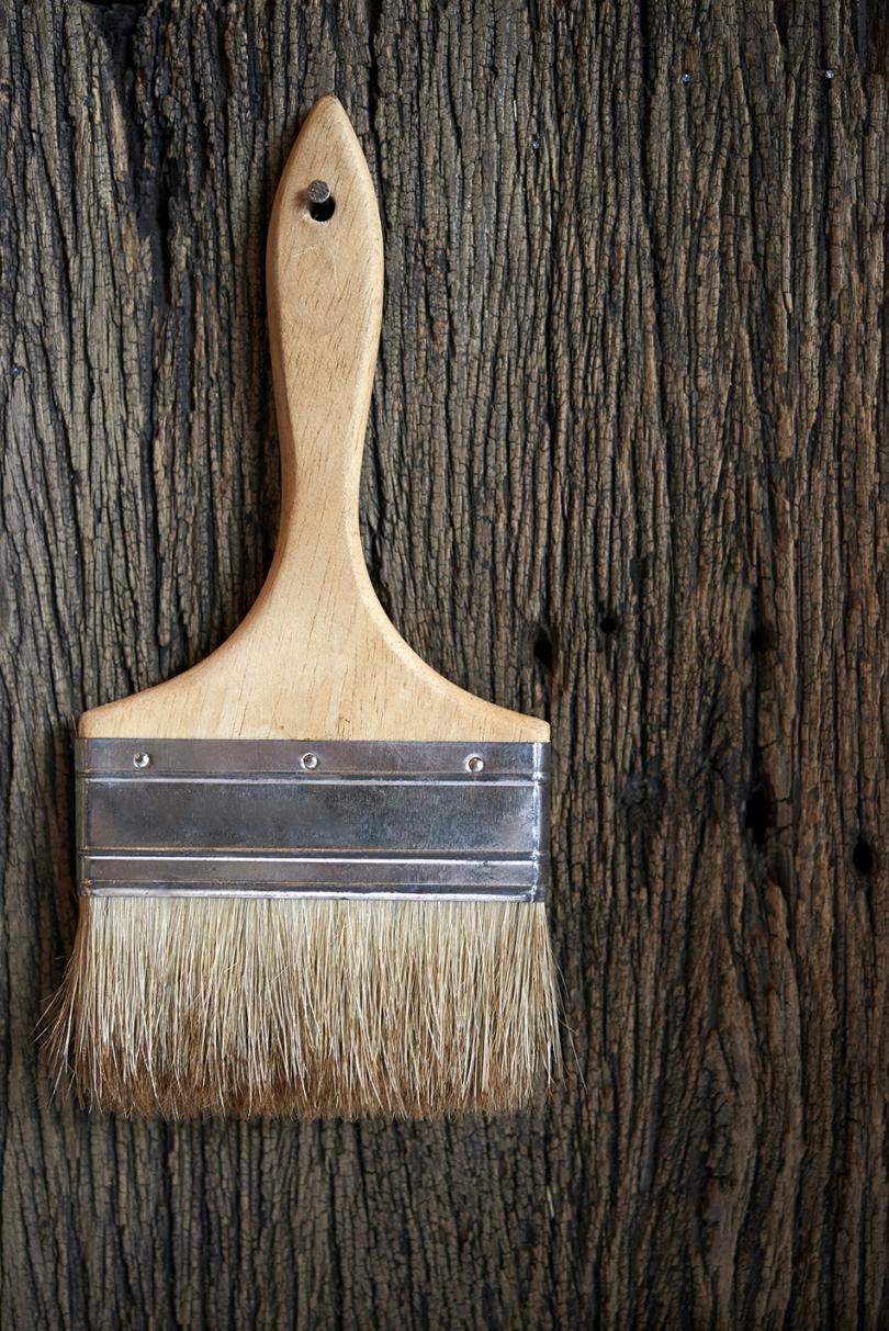 Impregnacja drewna za pomocą pędzla