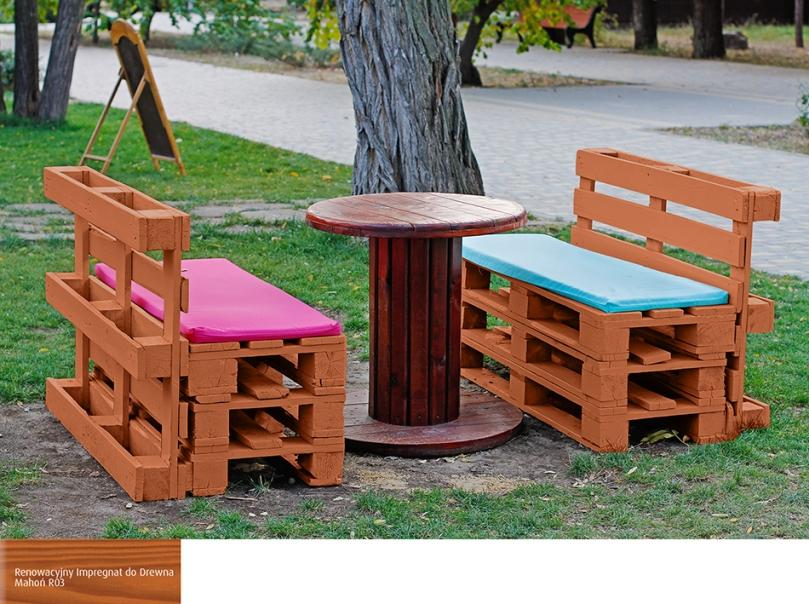 Najnowsze Meble ogrodowe z palet drewnianych - Twój ogród w stylu DIY KZ86