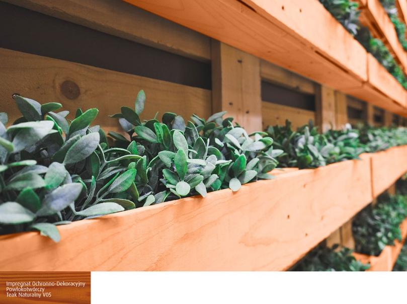 Ścianka do uprawy roślin