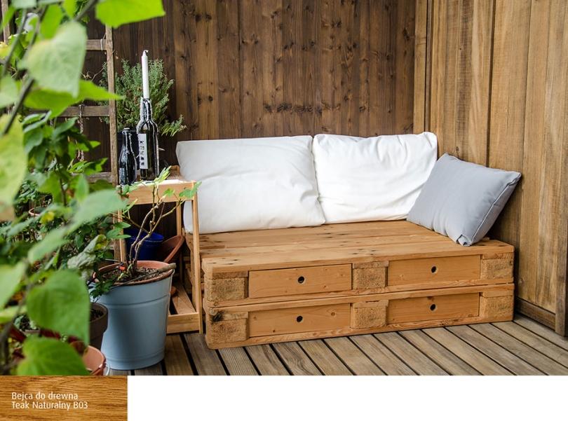 Meble Ogrodowe Z Palet Drewnianych Twój Ogród W Stylu Diy