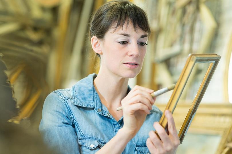 Malowanie ramki