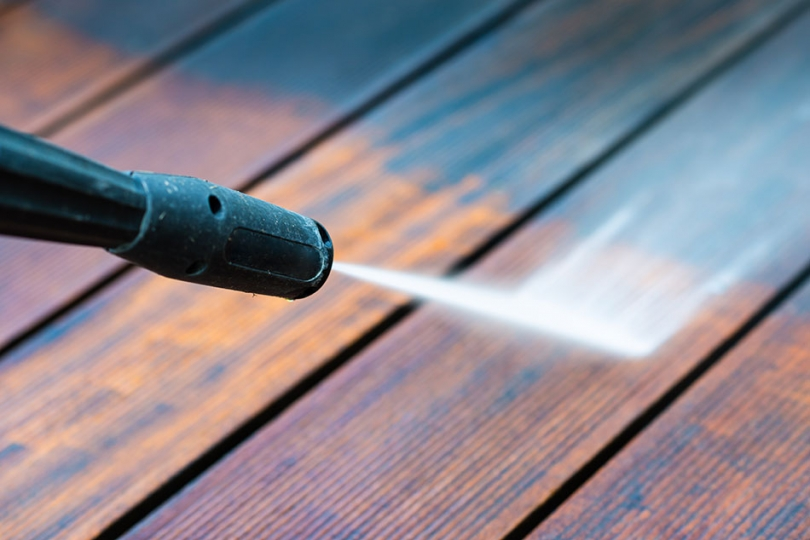 Oczyszczanie drewna
