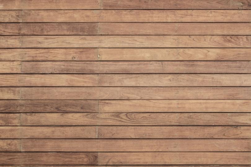 Drewniana podłoga tarasowa zdesek