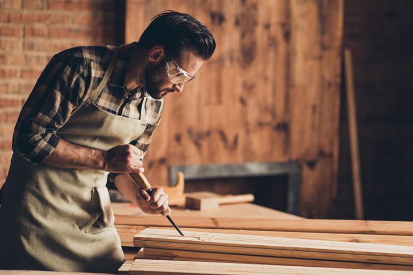 Tworzenie drewnianej wyspy kuchennej