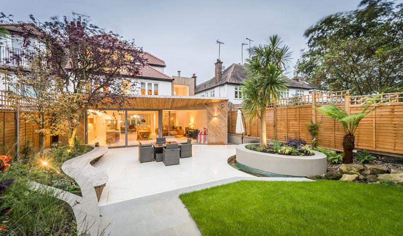 Nowoczesny ogród wstylu minimalistycznym