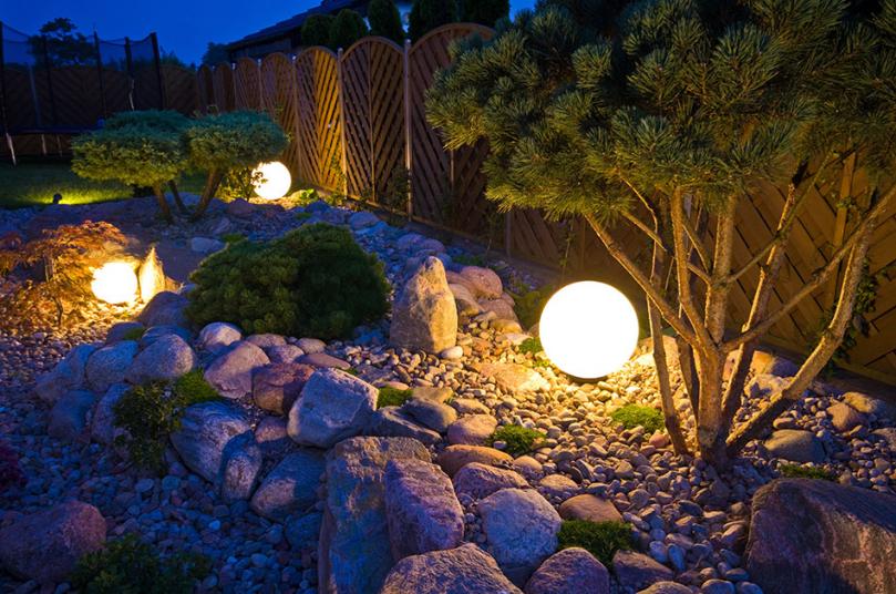 Klimatyczne oświetlenie ogrodowe